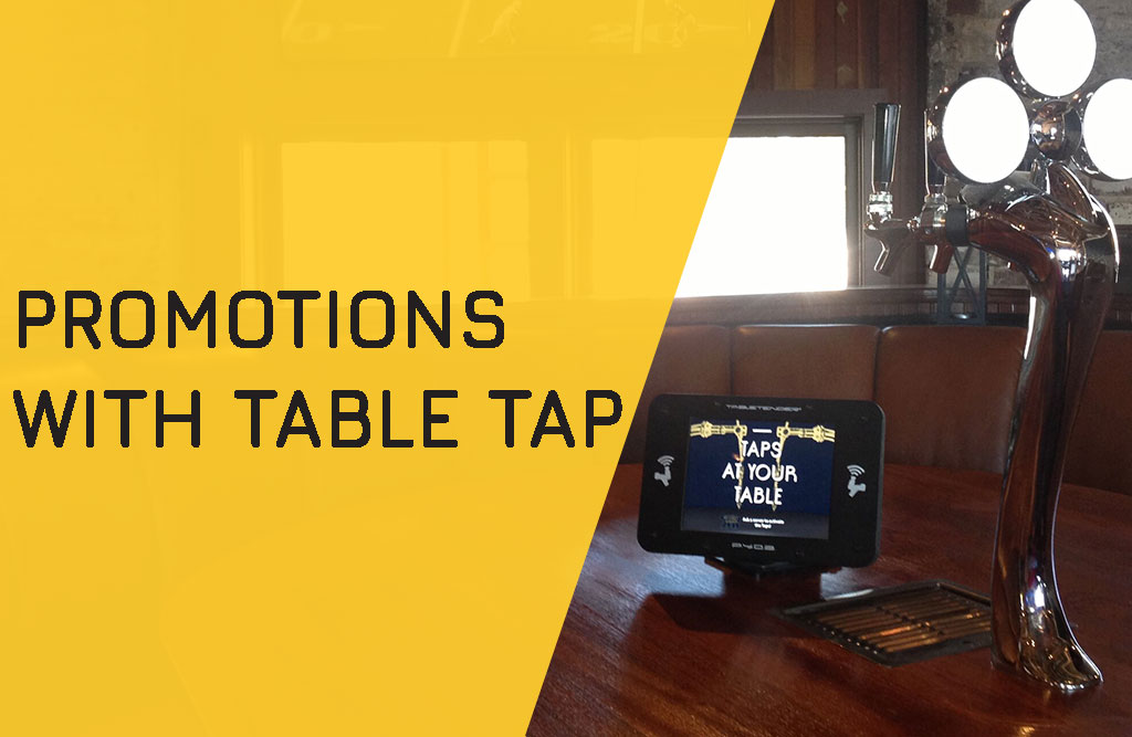 Promotions with Table Tap